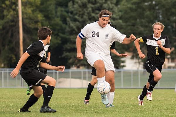 CC Varsity Soccer vs Delphi 2015-8-27