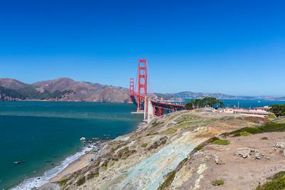 San Francisco Battery of Bluffs Trail 9/25/2015