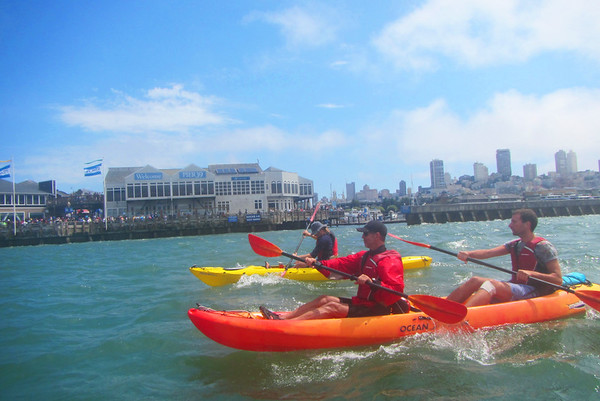 SF Bay Kayaking: Jul 21, 2018