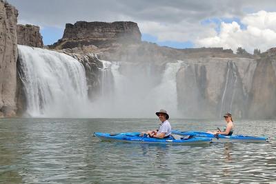Kayak Shoshone Falls