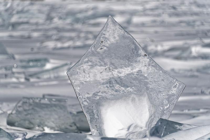 Ice trekking to Bolshiye Koty