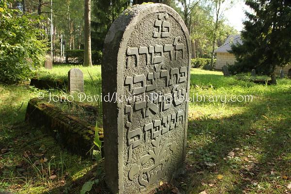 LATVIA, Valka. Jewish Cemetery (8.2011)