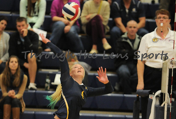 Corban vs. Southern Oregon College Volleyball 2014