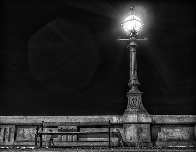 The Bench and the Lamp Post