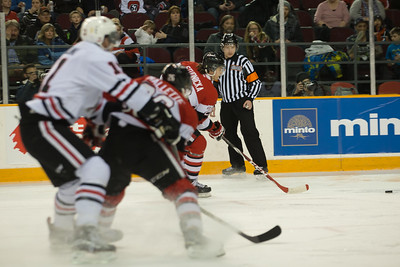 IceDogs vs 67s, playoffs, 150326