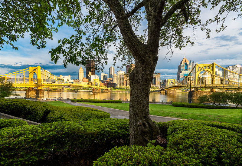 """Sprung the Third"" - Pittsburgh, North Shore   Recommended Print sizes*:  4x6  