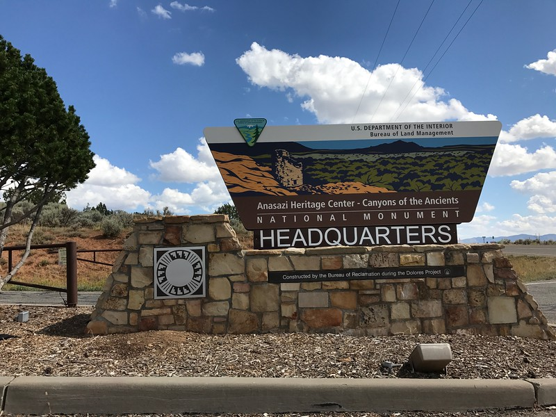 2017-09-15  Anasazi Heritage Center, Canyons of the Ancient National Monument