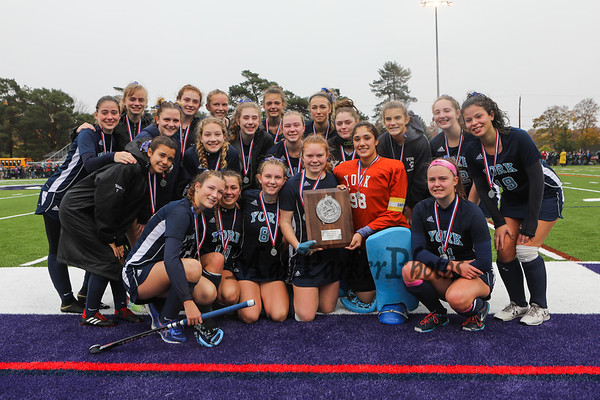 2018-11-3 York Girls Field Hockey vs Gardiner in Class B Finals
