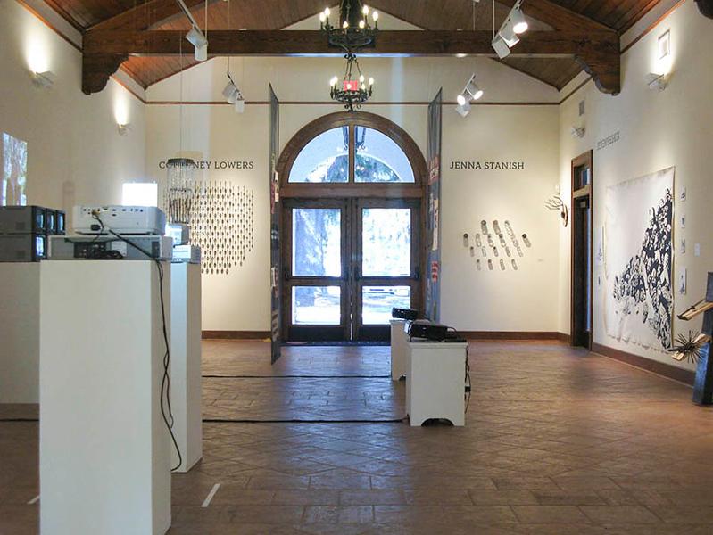 BFA & BA Senior Portfolio Exhibition Spring 2012, installation view