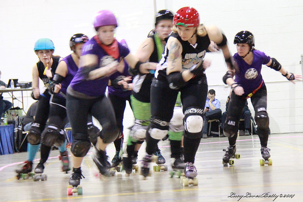 2014 Bath City - 3.15.14 - vs. Downriver Roller Dollz Bout