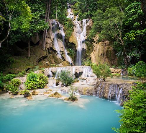 Kuang Si Falls and Bear Rescue Center
