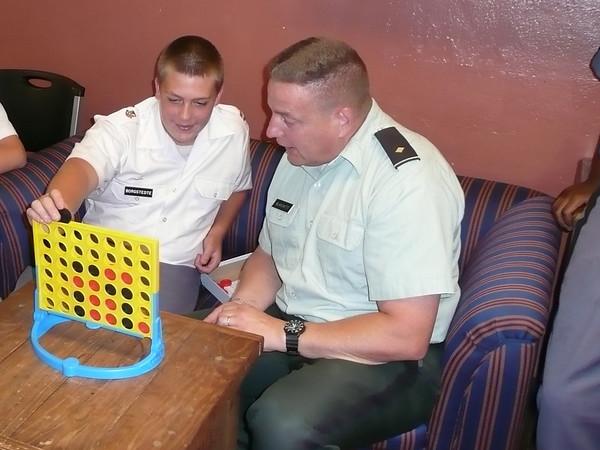 Cadets at Play