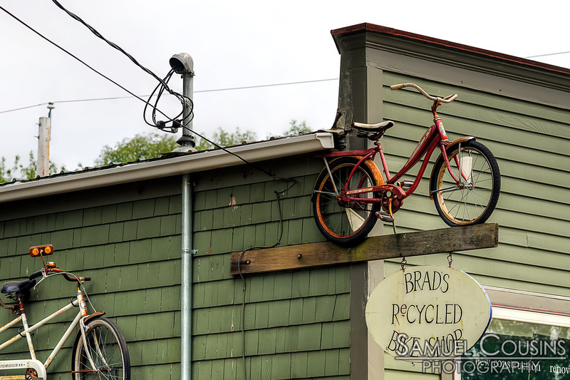 Ben's Recycled Bicycles