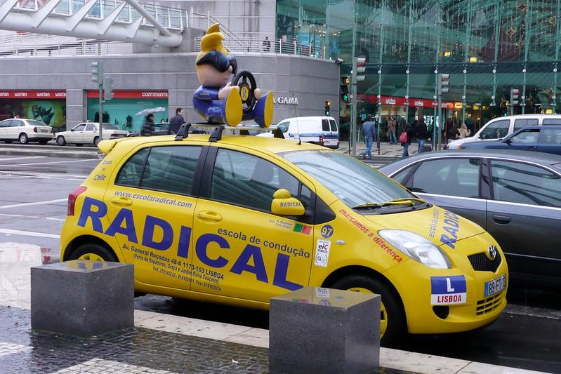 Radical Driver. Parque das Nações, Lisbon