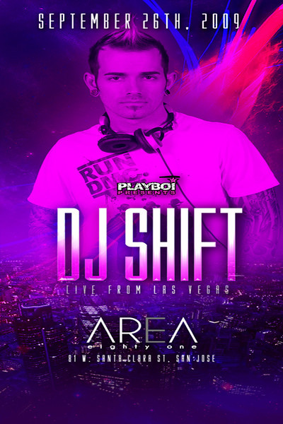 DJ SHift @ Area EightOne 9.26.09