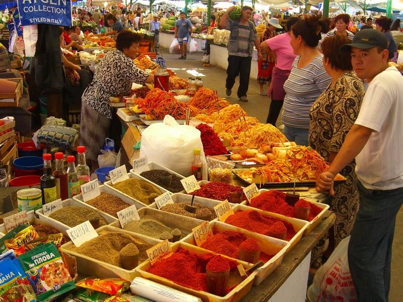 Spices and Pickled Vegetables - Bishkek, Kyrgyzstan