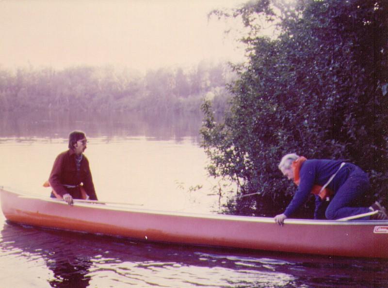 Dave & Wayne launching Canoe on Stormy Lake, AK, 08-1980,   4-26-2005 9-49-22 PM 918x683 - Copy.jpg