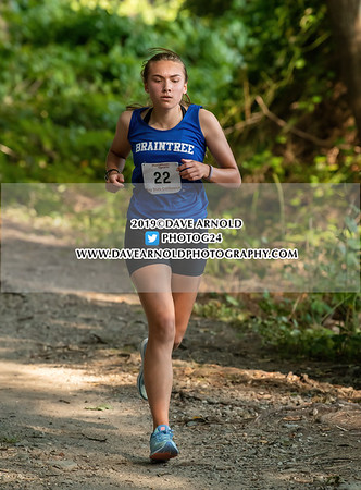 9/11/2019 - Girls JV Cross Country - Braintree, Walpole, Needham