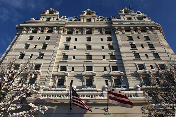 WILLARD HOTEL DC SNOW