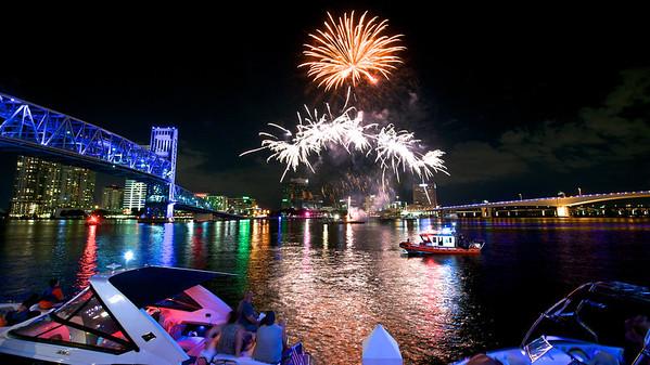 Jax Landing Fireworks 2014