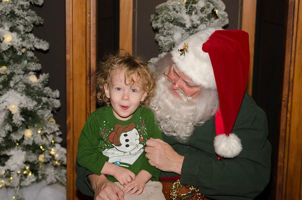 Dec. 11, 2016 Portraits with Santa