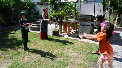 Backyard Water Fun:  June 1, 2014