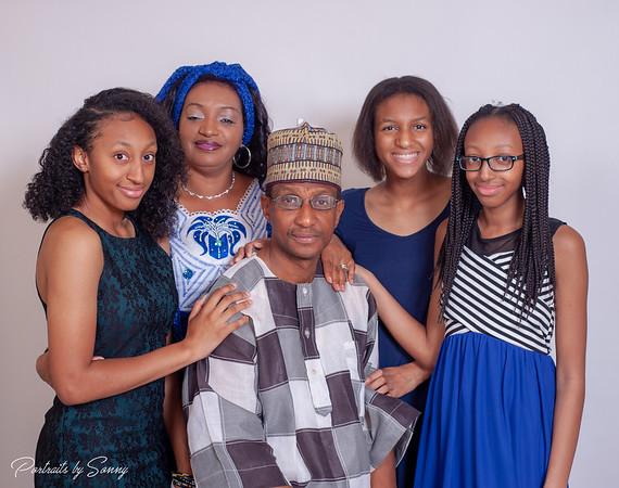 ISATU & FAMILY
