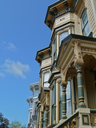 San Francisco Victorian Home Walk