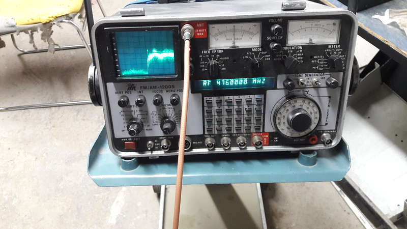 Interference at 476 MHZ from TV transmitter