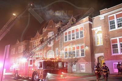 Hempstead F.D. Working Fire   Peninsula Blvd.(Hempstead School District) 8/7/18