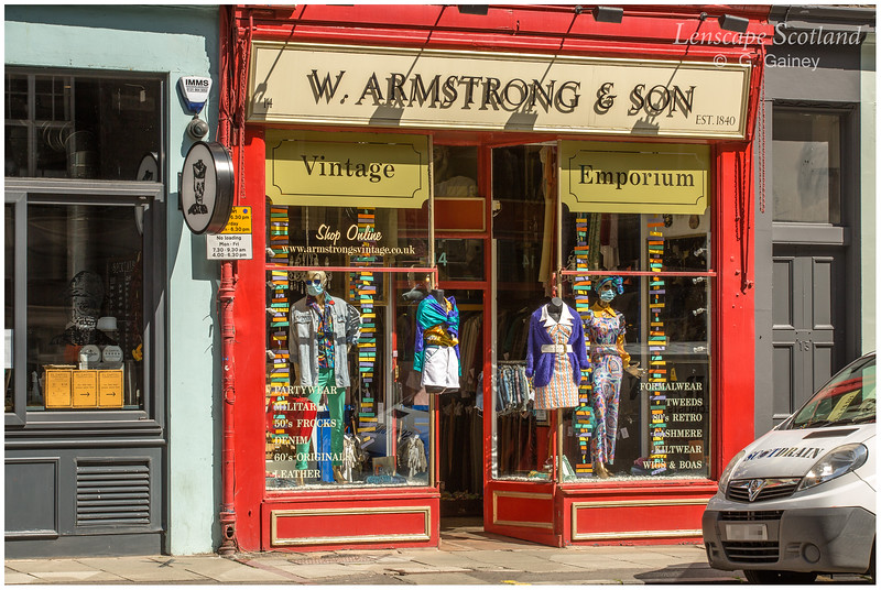 Armstrong's Vintage Clothing Emporium, Teviot Place