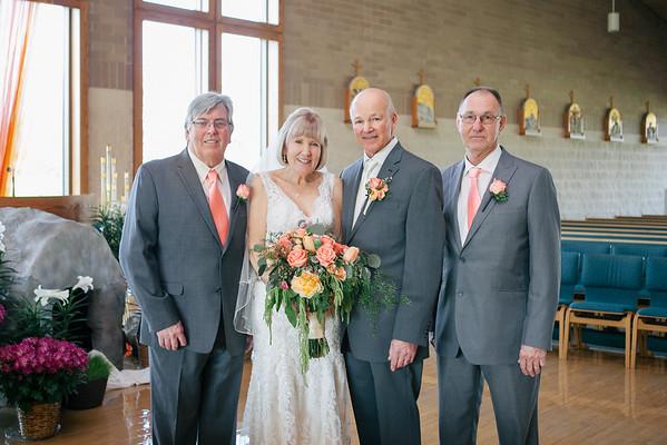 Moore Wedding Family