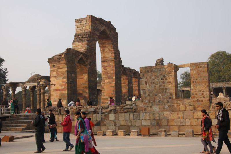 Qutb Minar mosque built in 11th century