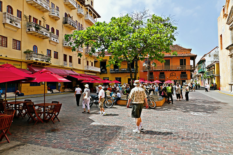 Plaza Santo Domingo, Cartagena