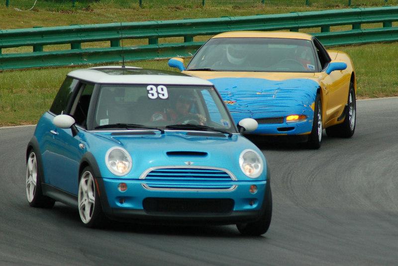 Mini & a Corvette