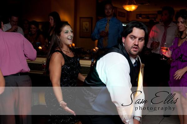 Michelle and Matt reception