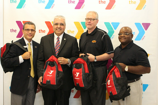 2014 YMCA Backpack Donations