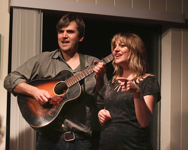 Anais Mitchell & Jefferson Hamer at Music by the Bay  Assonnet MA. 4/9/2013