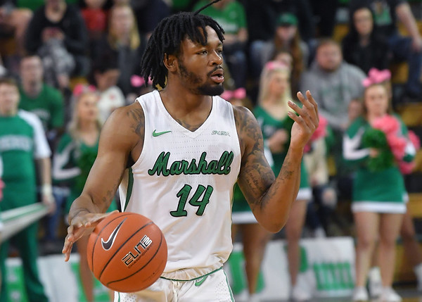 Marshall Men's Basketball v. UAB-Feb. 2019 Rick Haye