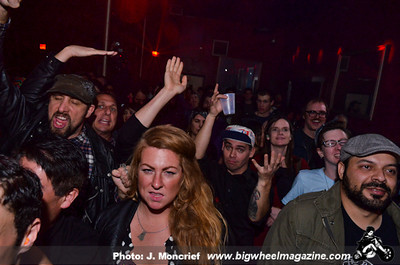 Dre Day Featuring Bad Cop Bad Cop - Pussy Cow - Turkish Techno - and Hands Like Bricks - at The Dragonfly - Los Angeles, CA - February 7, 2014