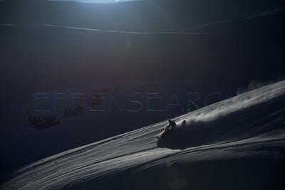 Effen Mountain Sledding