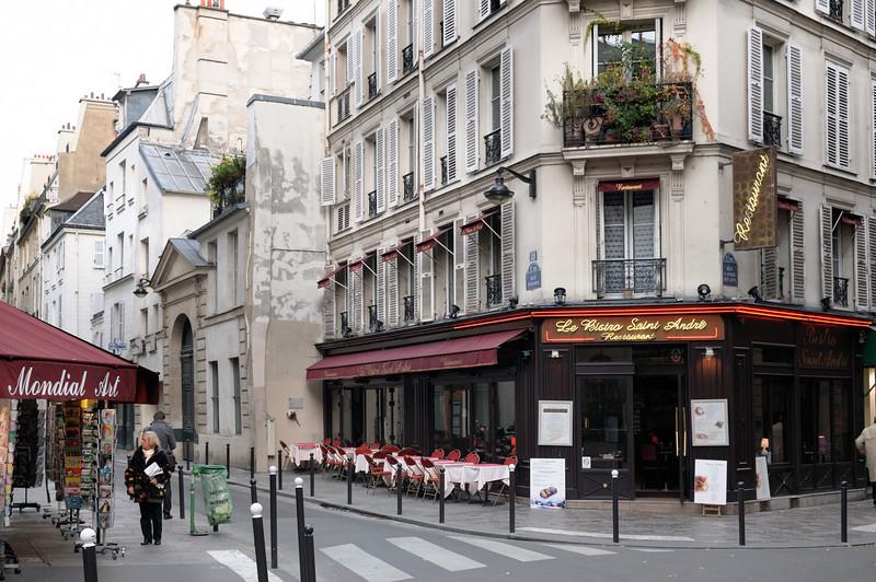 Street scene, left bank.