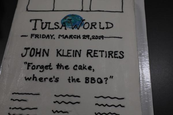 John Klein retires