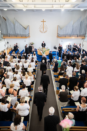 Gottesdienst mit Bezirksapostel Storck in Gießen am 26.05.18