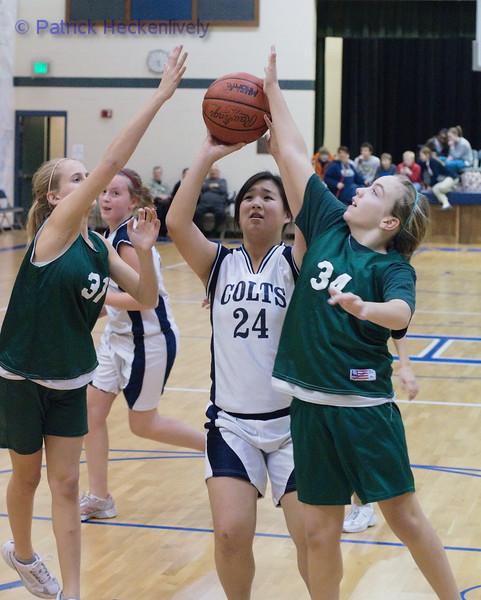 2011-01-31 Girl's Junior High Basketball