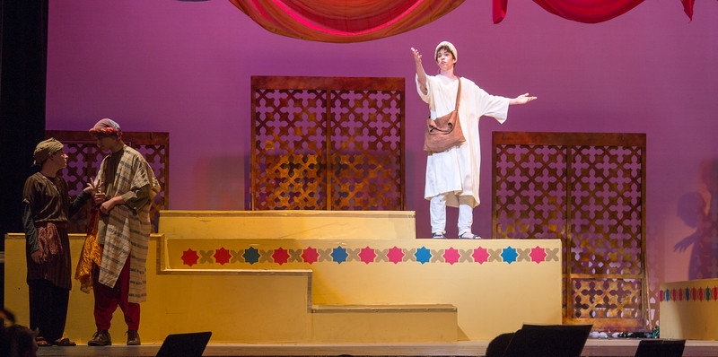 Hajj the Poet --Kismet, Montgomery Blair High School spring musical, April 15, 2016 performance (Silver Spring, MD)