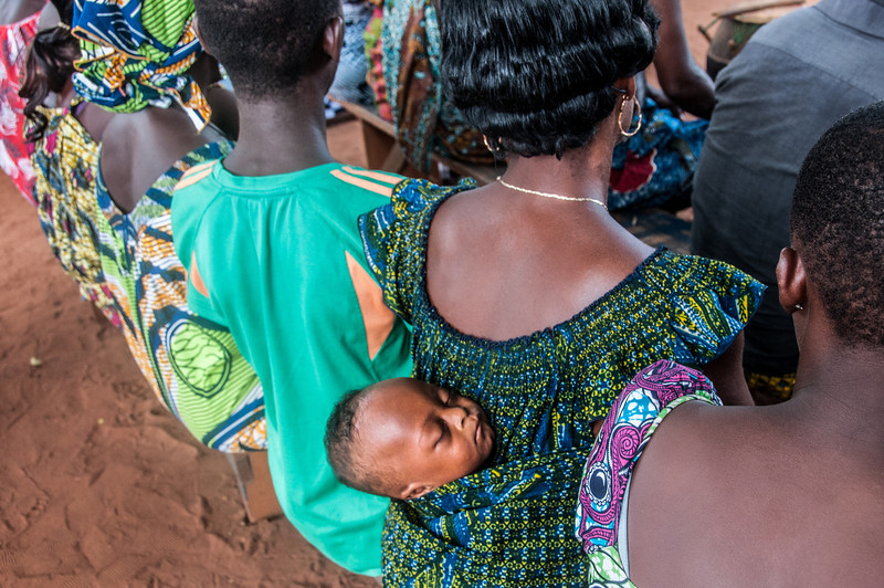 Locals in Lome, Togo
