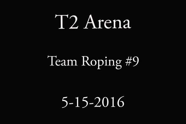 5-15-2016 T2 Arena  Team Roping #9