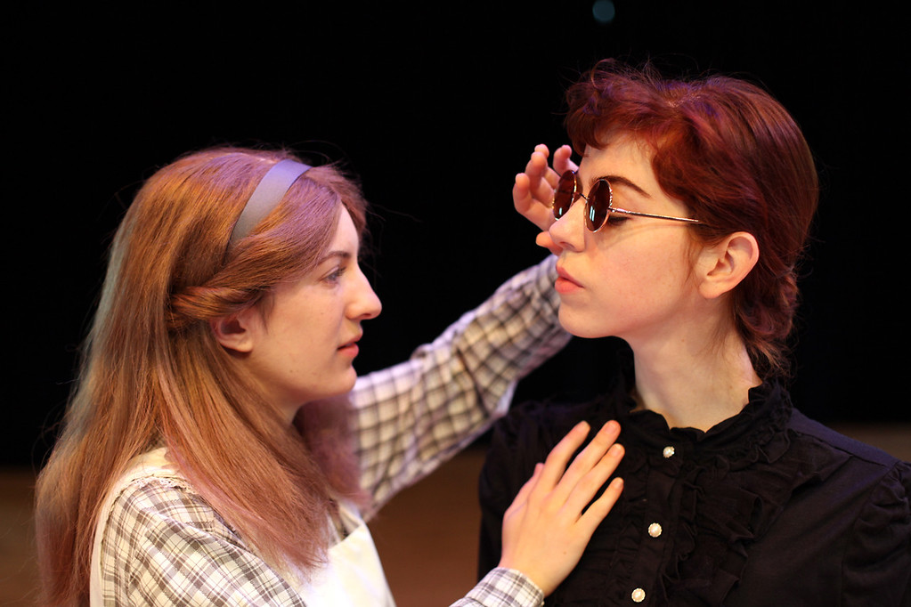 . Minor Cline, left, and Llewellyn Nuñez perform a scene in the Oberlin Summer Theater Festival production of �The Miracle Worker,� running June 16 through 30. For more information on the show, call 440-775-8169 or visit oberlin.edu/ostf. (Submitted)