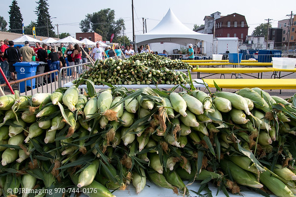 Loveland Corn Roast 2018 - Corn Shucking Contest